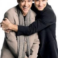 Robert Downey Jr és Jude Law